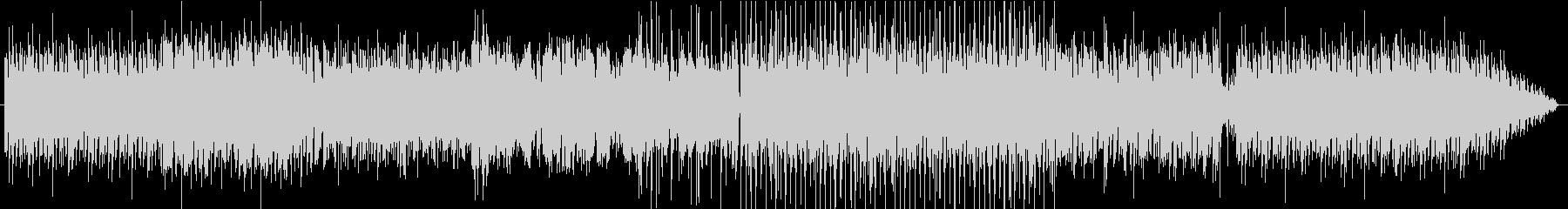 EDMのBGMの未再生の波形