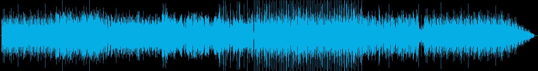 EDMのBGMの再生済みの波形