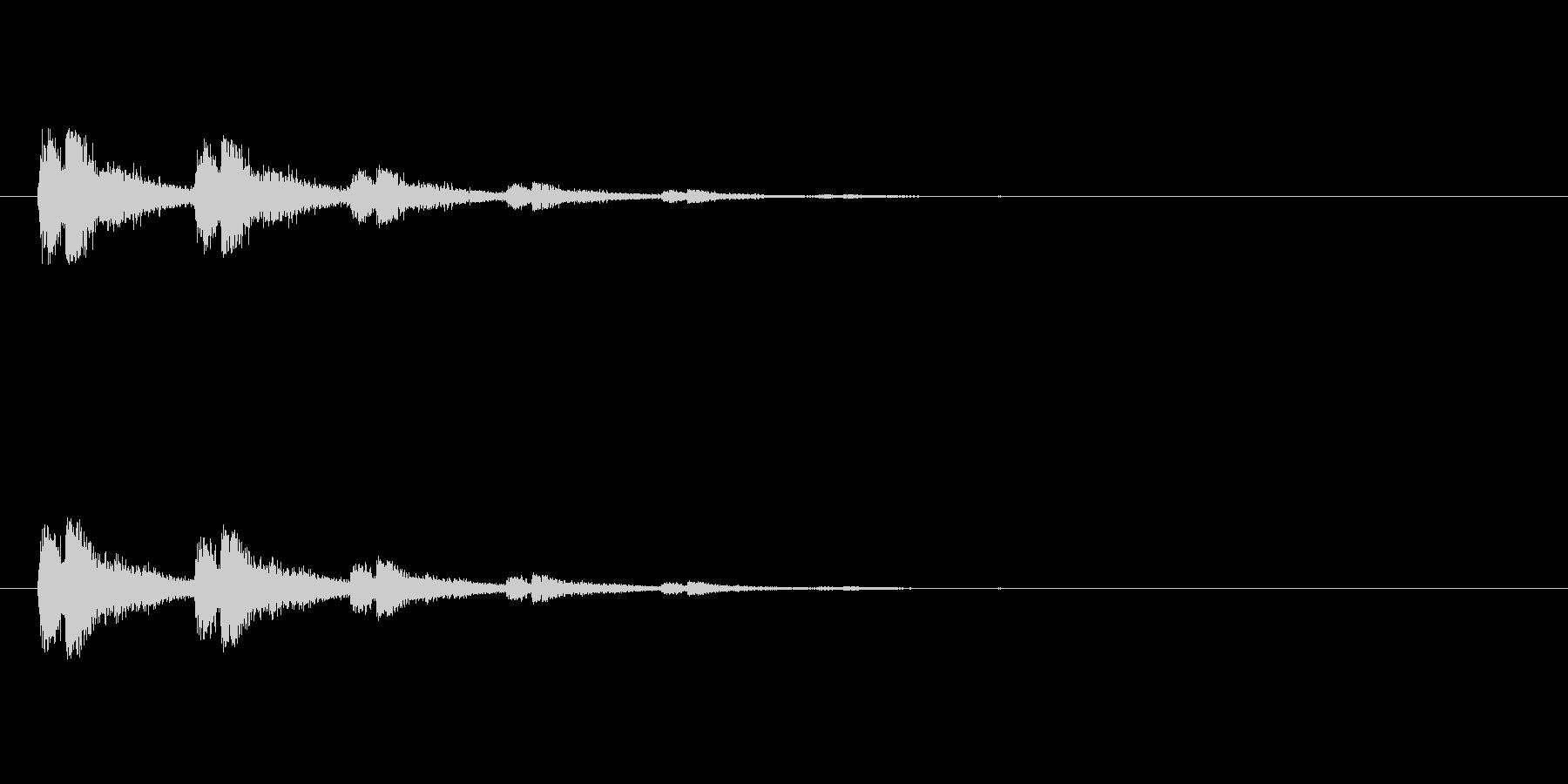 【スポットライト02-2】の未再生の波形