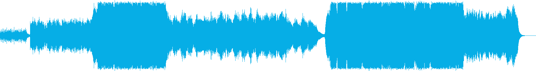 壮大で切ないファンタジーオーケストラの再生済みの波形
