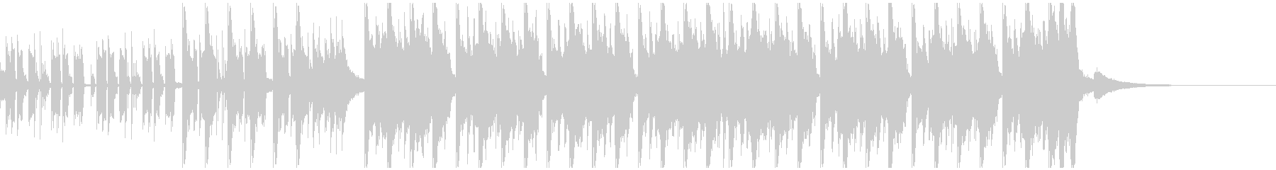 エレクトロスポーツ(30秒)の未再生の波形
