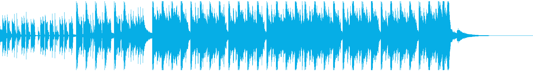 エレクトロスポーツ(30秒)の再生済みの波形