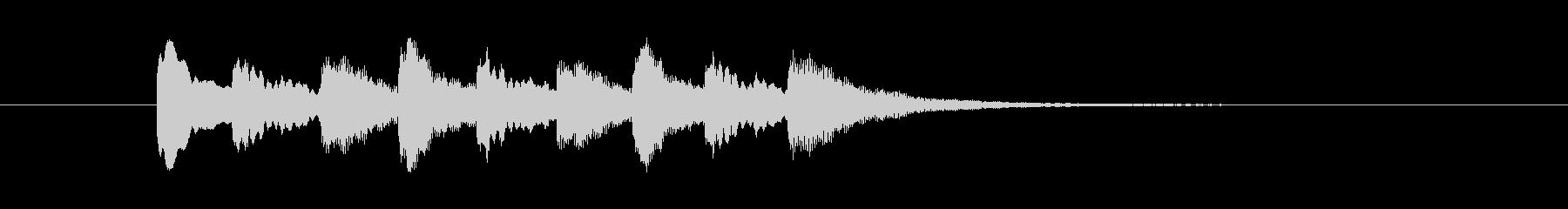 テレレテレレテレレ(警音・注目・エラー)の未再生の波形