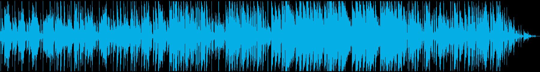 ゆったりかわいいレゲエ調ギターインストの再生済みの波形