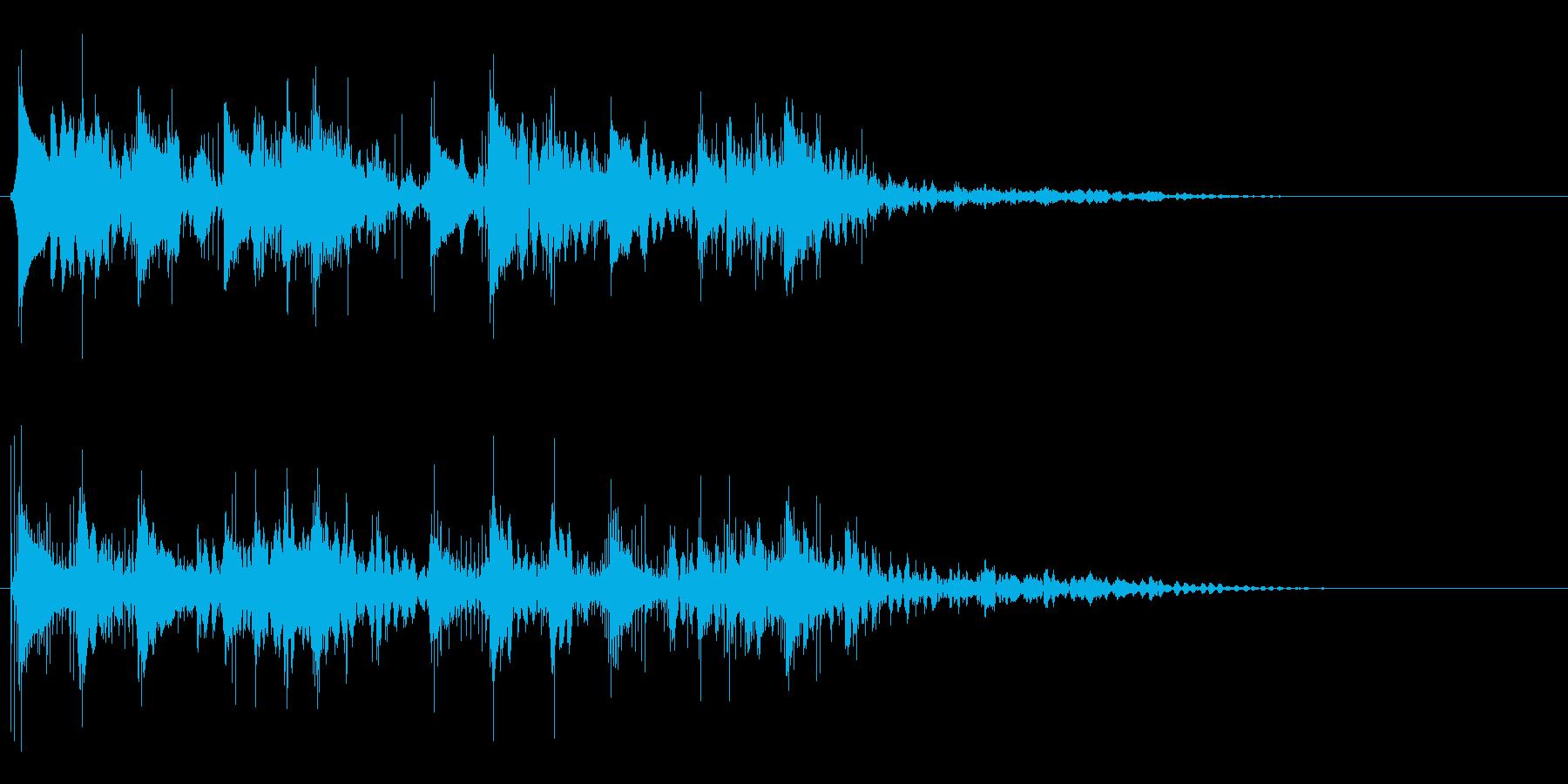 アイキャッチ 44の再生済みの波形