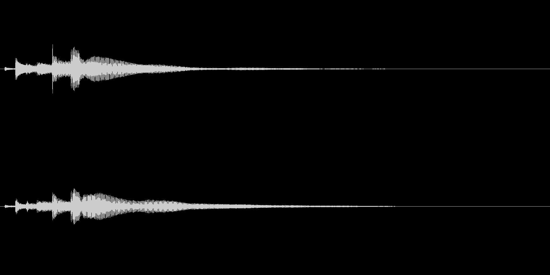 ポロロロン(ハープの高めグリス↓)の未再生の波形