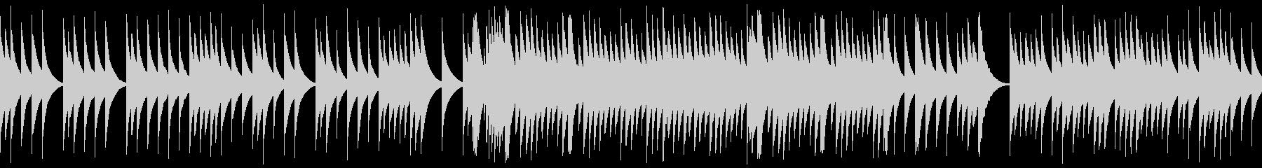 ジブリのようなオルゴール(チェレスタ)の未再生の波形