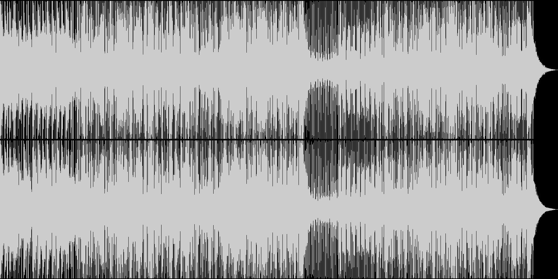 ブラスセクションをフィーチャーした...の未再生の波形