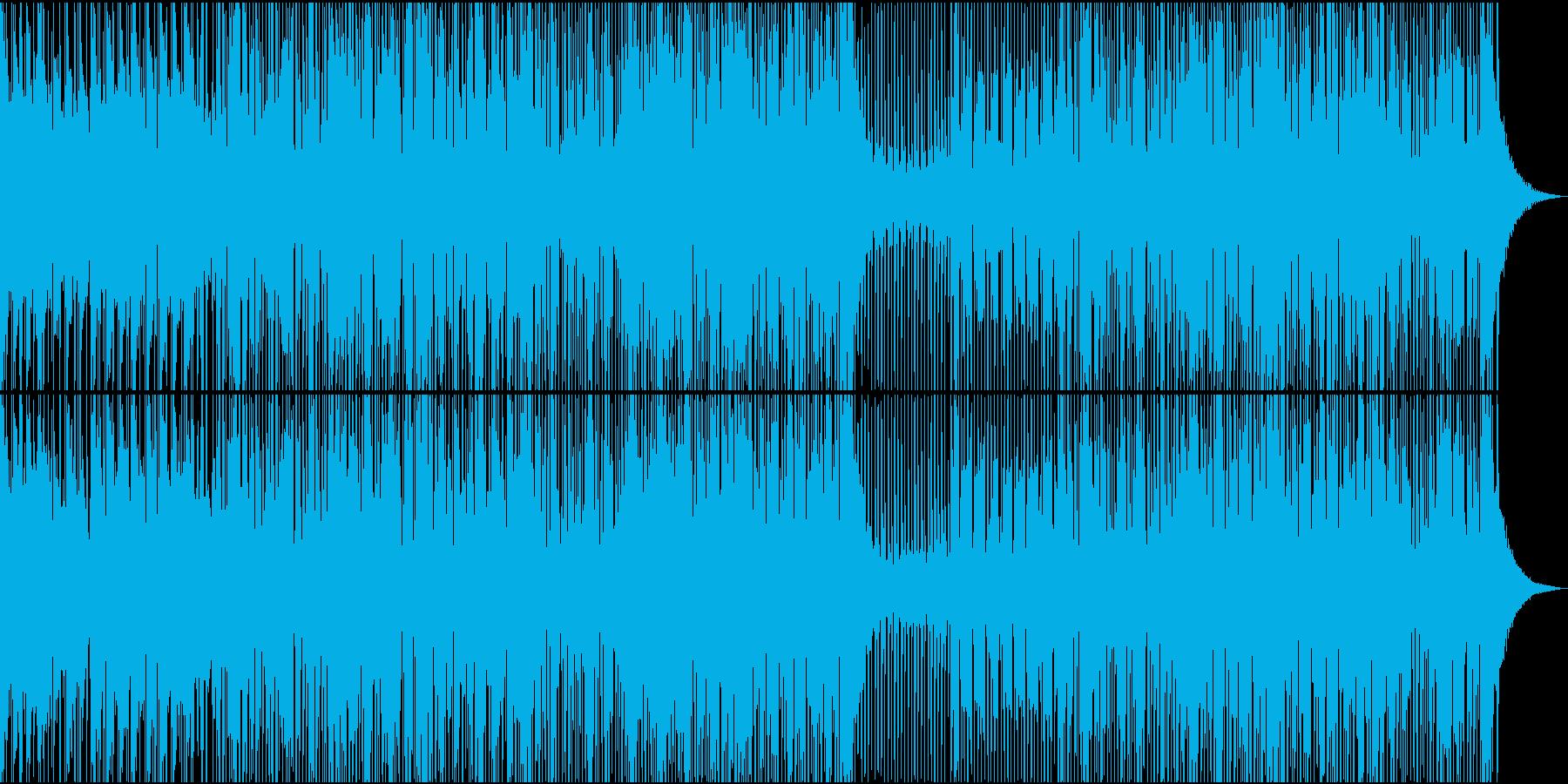 ブラスセクションをフィーチャーした...の再生済みの波形