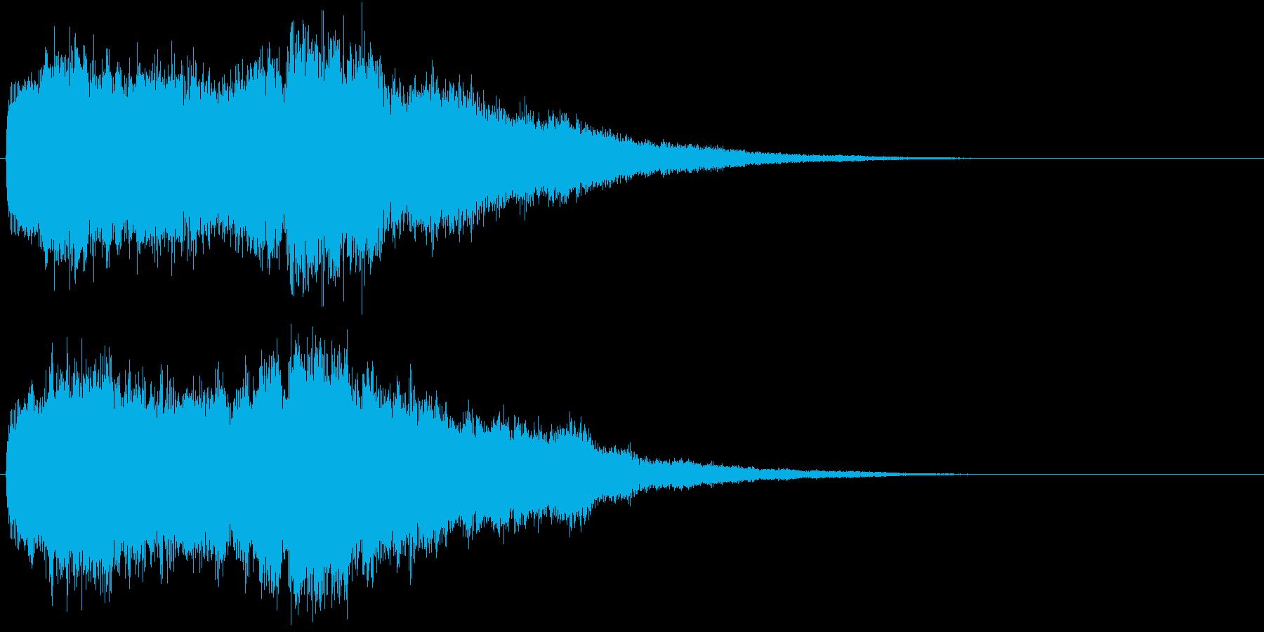 神秘的 宇宙 オープニング 場面転換 2の再生済みの波形