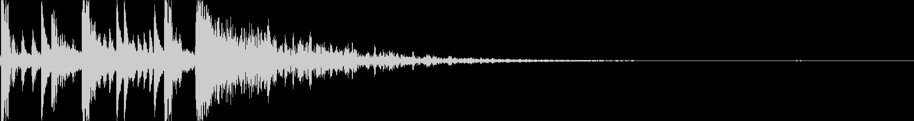 ドラムロール/ブレイク ジングルロゴ14の未再生の波形