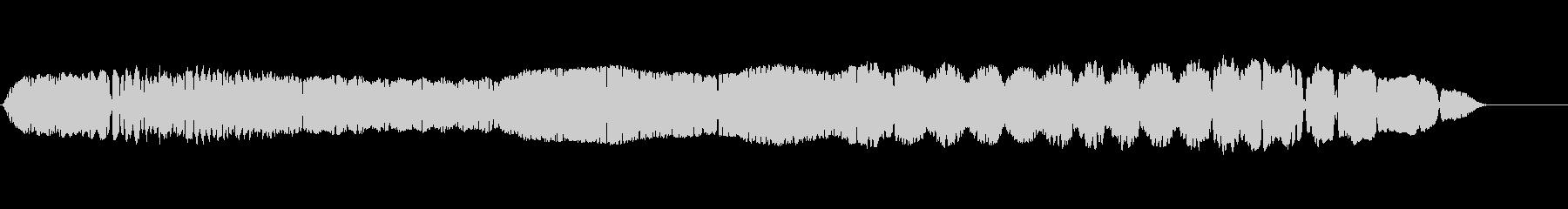THEREMIN:FRANTIC ...の未再生の波形