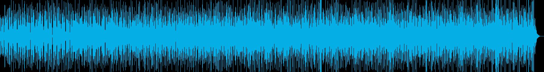 ディープなラテンのソンアフロとギターの再生済みの波形
