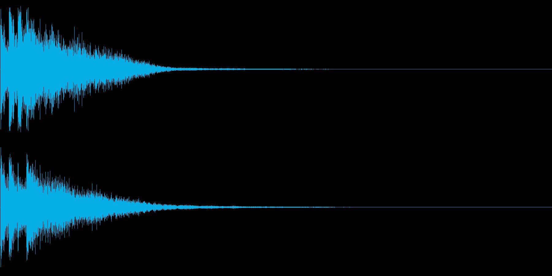 キラリーン(起動、決定、正解)の再生済みの波形