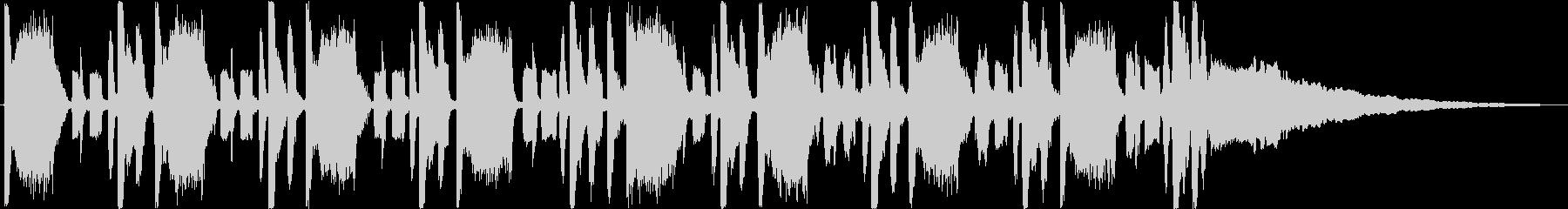 30秒】ダブステップ コミカル オシャレの未再生の波形