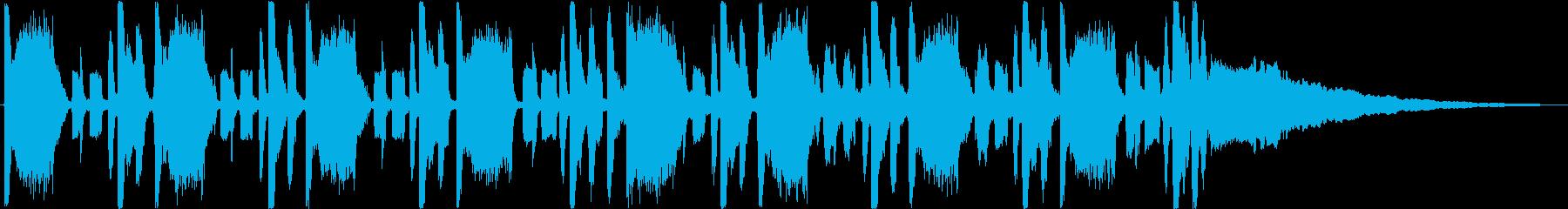30秒】ダブステップ コミカル オシャレの再生済みの波形