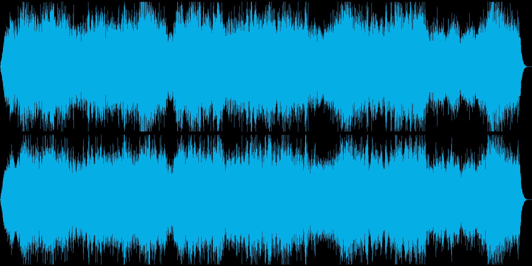 心霊映像の再現VTR用●アンビエント★Aの再生済みの波形