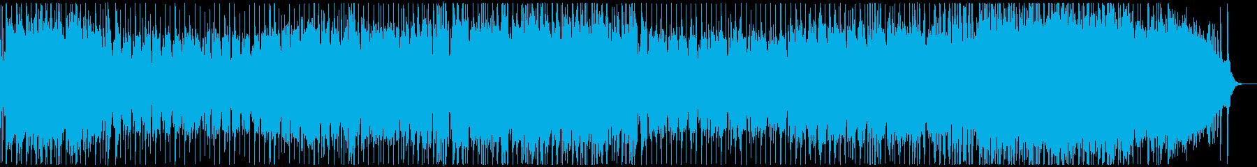 和風で日本的な印象の雅な和ポップスの再生済みの波形
