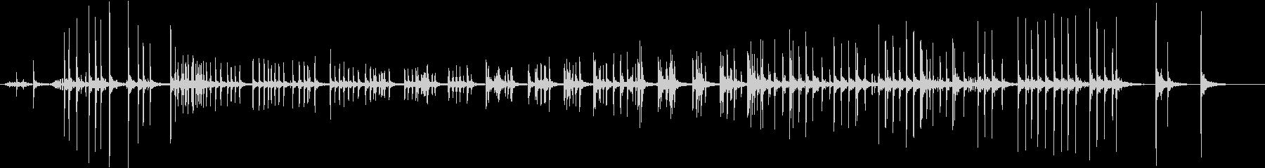 【生録音】ものをねじる音 1の未再生の波形