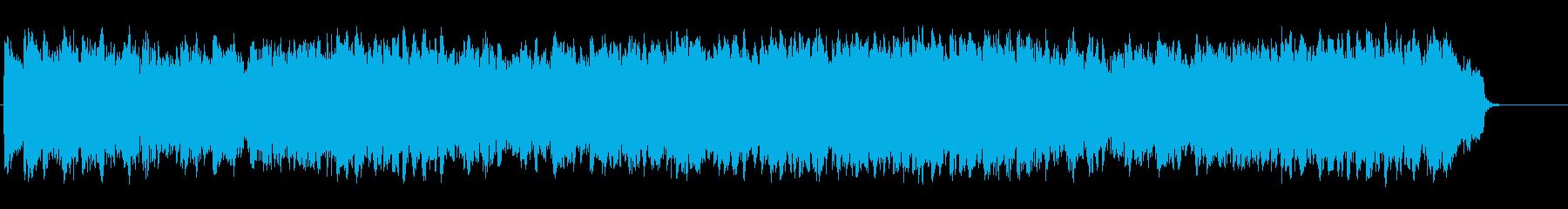 ほのぼのと暖かいオーケストラ/テーマの再生済みの波形