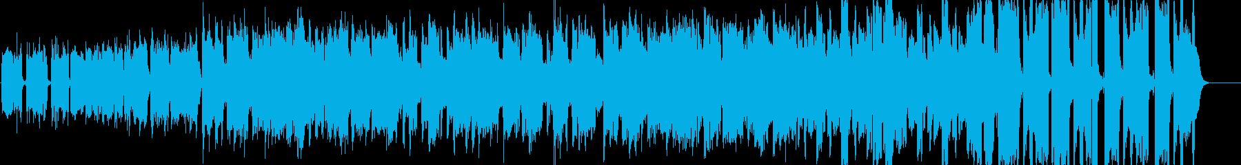 ケルト風・中世ファンタジーの町村用BGMの再生済みの波形