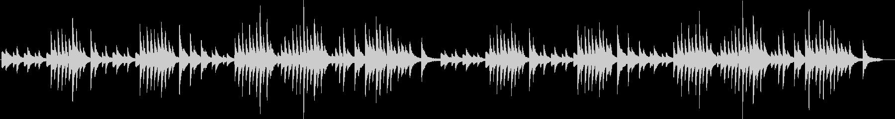 エリックサティの代表作ジムノペティ第一番の未再生の波形
