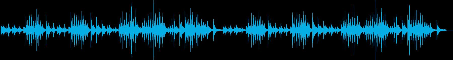 エリックサティの代表作ジムノペティ第一番の再生済みの波形