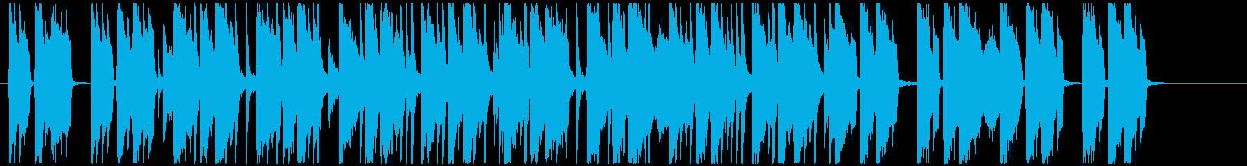 汎用性の高い使いやすいポップフュージョンの再生済みの波形