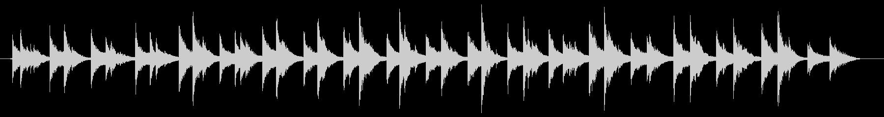 デュアルカウベル:コンスタントシェ...の未再生の波形