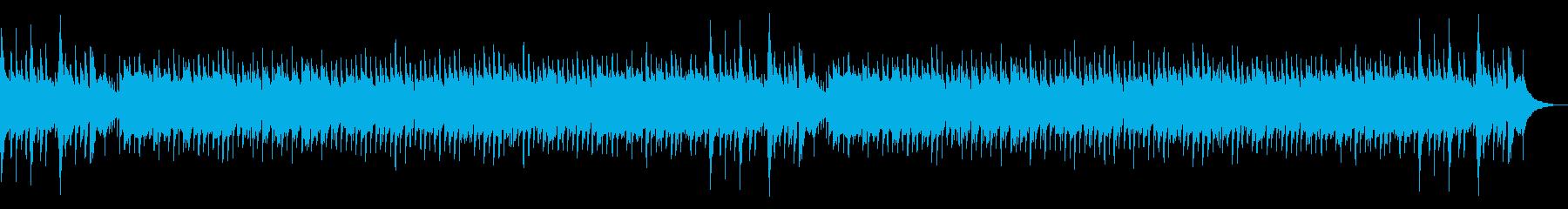 旋律がティンホイッスルの幻想的ケルト音楽の再生済みの波形