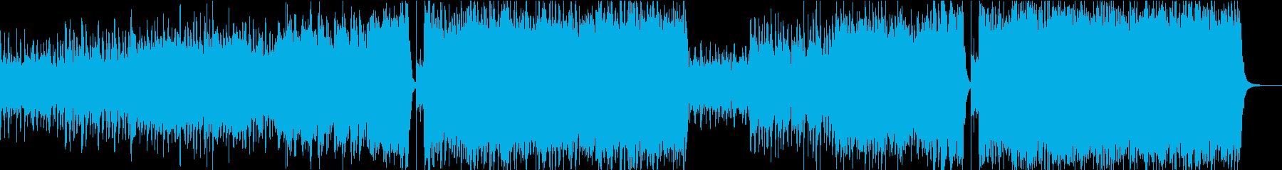 熱情的なCM・VPに適したオーケストラの再生済みの波形