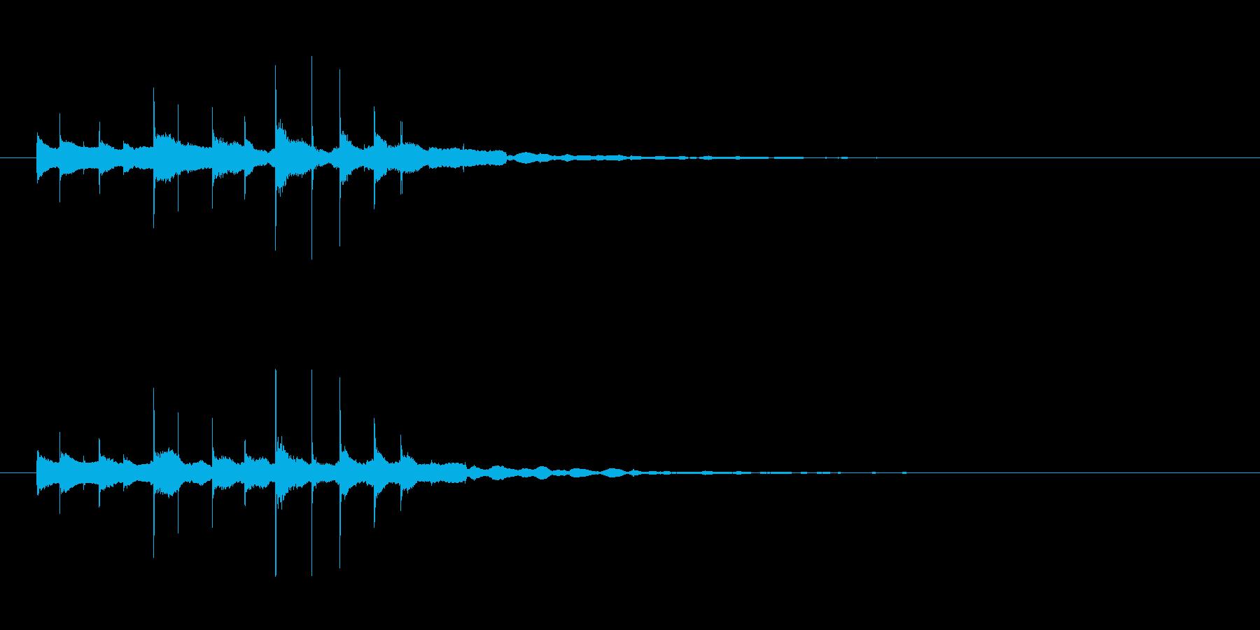 素材 グロッケンシュピールスパーク...の再生済みの波形