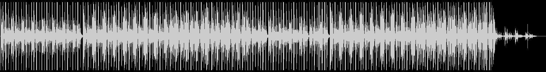 お洒落なチルアウト系ヒップホップの未再生の波形