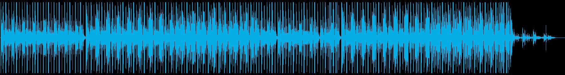 お洒落なチルアウト系ヒップホップの再生済みの波形