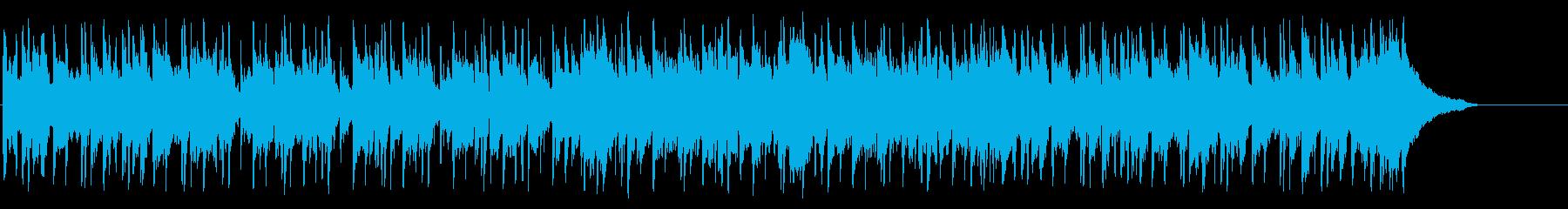 センチメンタルな南国のムードポップの再生済みの波形