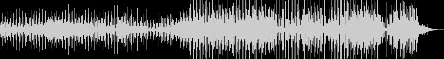 ウクレレ・後半賑やか 日常作品に Bの未再生の波形