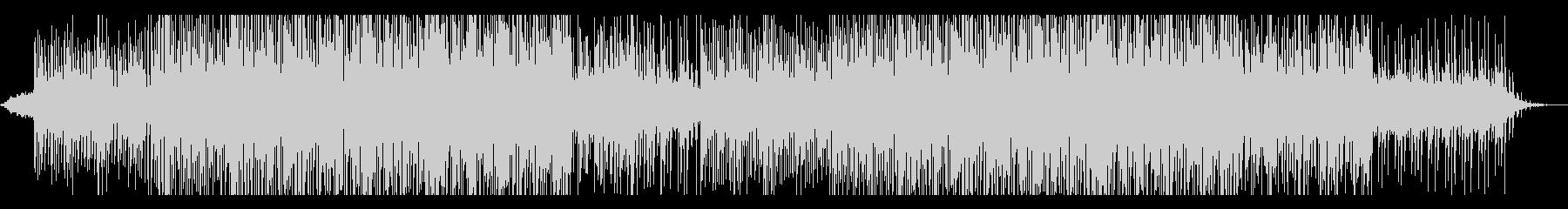スタイリッシュなチルアウトの曲の未再生の波形