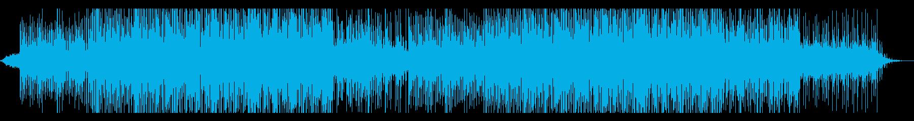 スタイリッシュなチルアウトの曲の再生済みの波形