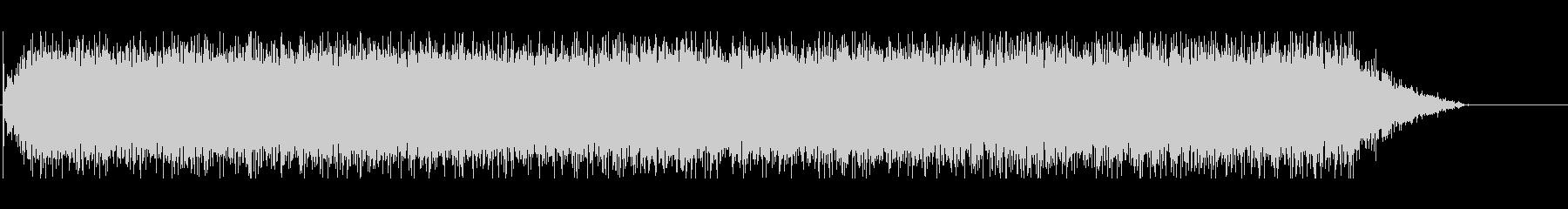 ウィーーン(電動ドライバーの音)2の未再生の波形