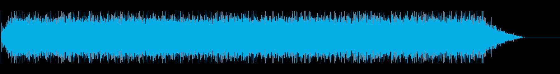 ウィーーン(電動ドライバーの音)2の再生済みの波形