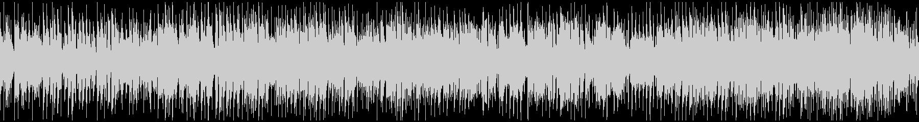 ファンキーなクラブジャズ ※ループ仕様版の未再生の波形