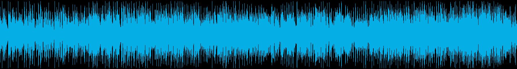 ファンキーなクラブジャズ ※ループ仕様版の再生済みの波形
