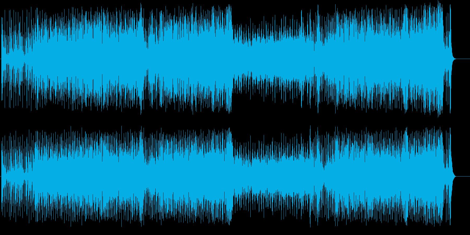 ブライトなフュージョン・サウンドの再生済みの波形