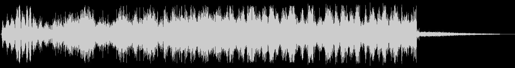ドゥルルル (甲高い回転音)の未再生の波形