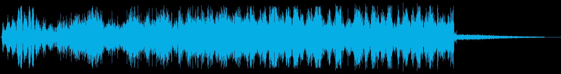 ドゥルルル (甲高い回転音)の再生済みの波形