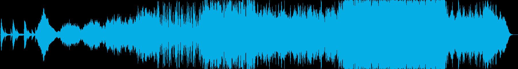 オーケストラで物語のOPの再生済みの波形
