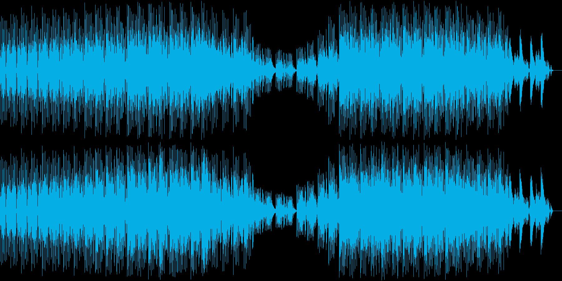 ほのぼのかわいいミニマル。の再生済みの波形