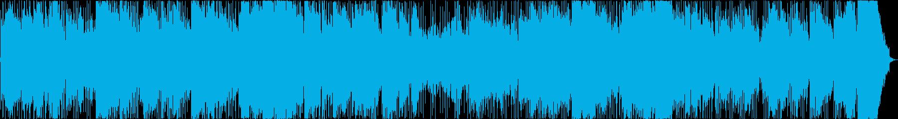 メロディックとオーケストラ。の再生済みの波形