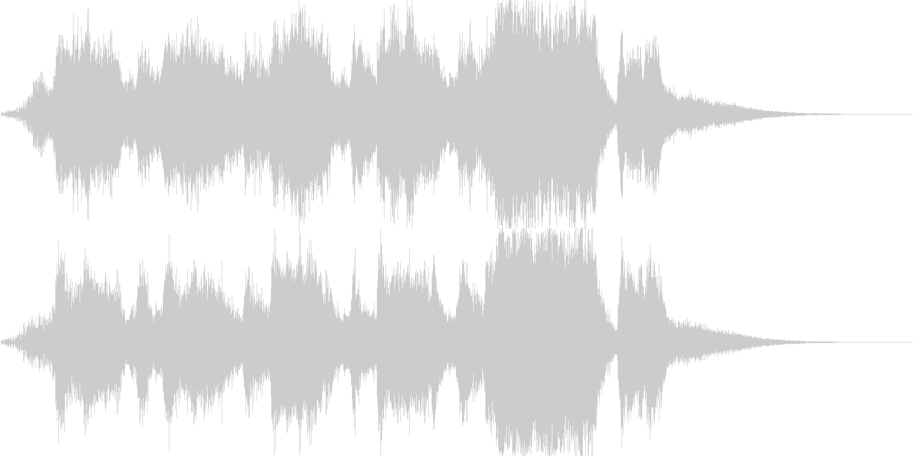 レベルアップや、ゲームクリア時のSEの未再生の波形