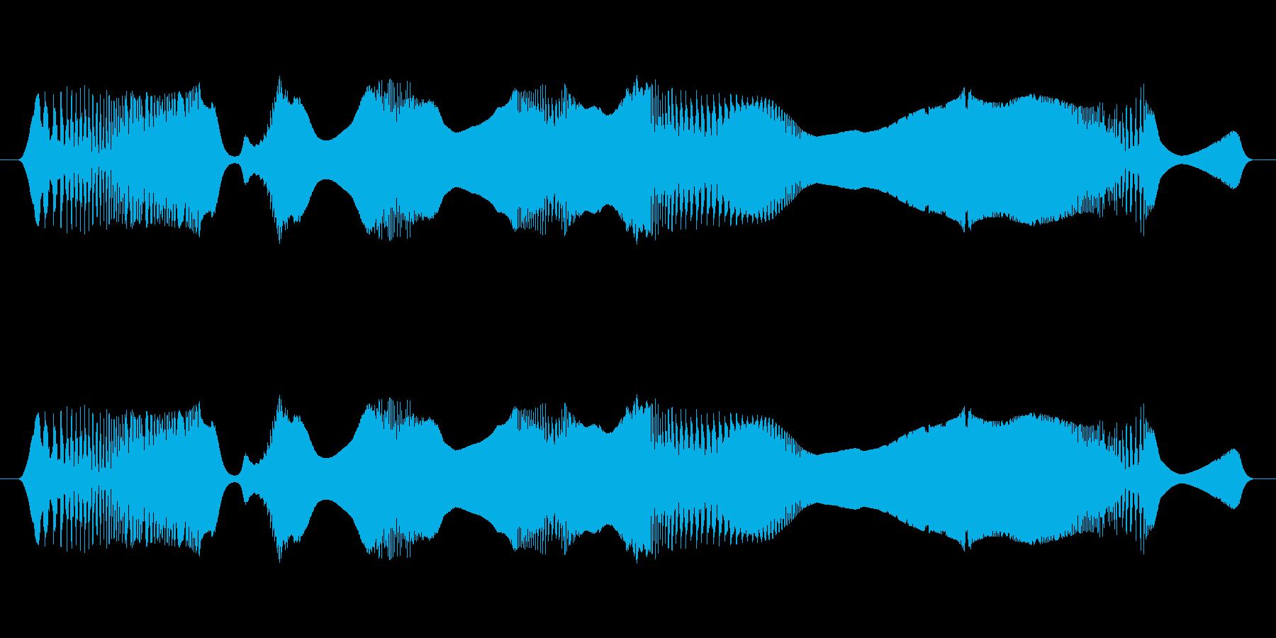 Retro Sweep Warbl...の再生済みの波形